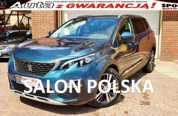 Peugeot 5008 2.0 BlueHDI 150 KM, ALLURE Salon PL, I WŁ, Panorama FULL LED.7 osób