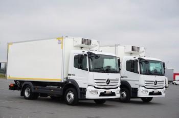 Mercedes / ATEGO / 1223 / EURO 6 / CHŁODNIA + WINDA / 13 PALET / MAŁY PRZEBIEG