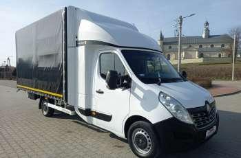 Renault Master TwinCab 10-Palet_Firana + Regulacja wysokości +Pneumatyka EURO6