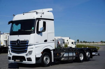 Mercedes / ACTROS / 2548 / E 6 / ACC / BDF + WINDA / PEŁNY ADR / RETARDER