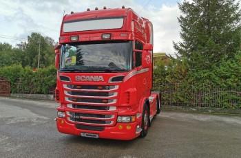 Scania R500 V8 TOPLINE PUSHER 6X2/4