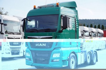 MAN TGX 26.480 XLX / 6x2 / PUSHER / E6 / AUTOMAT /
