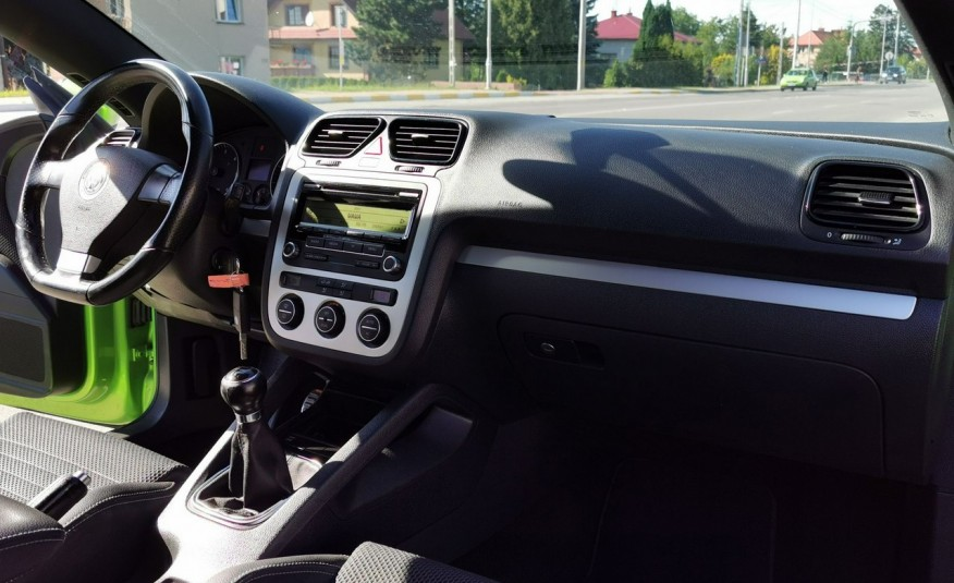 Volkswagen Scirocco 2.0 TDI 140 KM 180 tys. km Klima Tempomat z Luksemburga zdjęcie 17