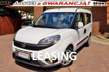 Fiat Doblo 100% Bezwypadkowy, Salon PL F.VAT23%.1.6 MJ 120KM, Gwarancja LEASING