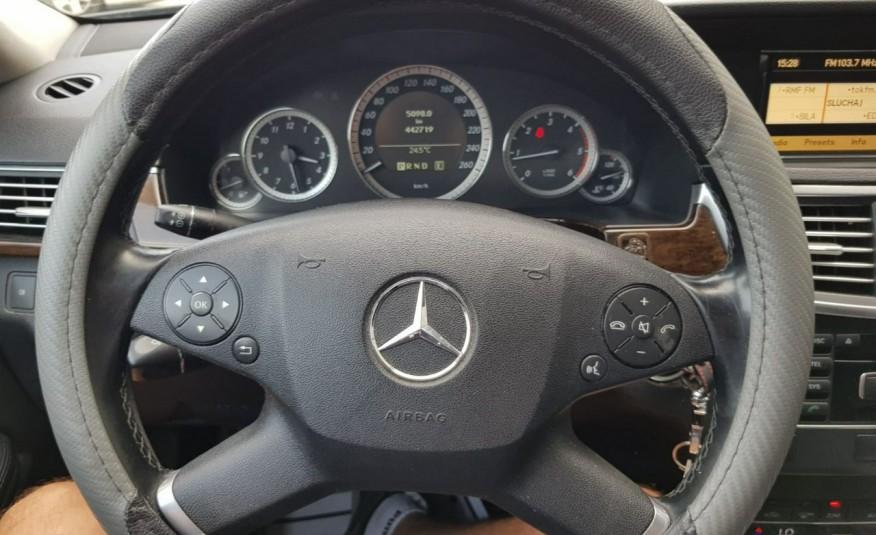Mercedes E 200 2.2 cdi 136KM, automat, lift, skóry, el klapa, xenon, led.1 rok gwarancji zdjęcie 20