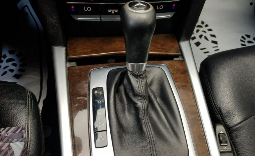 Mercedes E 200 2.2 cdi 136KM, automat, lift, skóry, el klapa, xenon, led.1 rok gwarancji zdjęcie 22