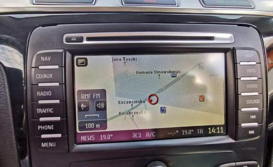 FORD Galaxy 2.0 TDCI 140 KM, Skóra, Klima, Nawigacja, Bluetooth, Komputer, Isofix zdjęcie 16