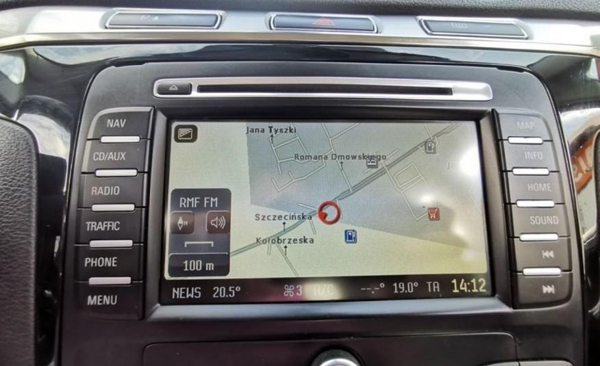 FORD Galaxy 2.0 TDCI 140 KM, Skóra, Klima, Nawigacja, Bluetooth, Komputer, Isofix zdjęcie 17