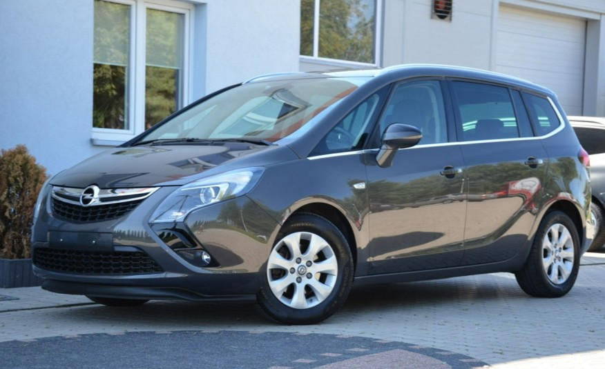 Opel Zafira Zafira Opłacona 1.6CDTI 136KM Bi-Xenon Navi Serwis Alu Gwarancja zdjęcie 7