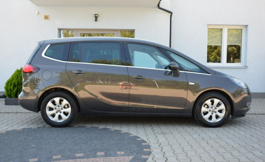 Opel Zafira Zafira Opłacona 1.6CDTI 136KM Bi-Xenon Navi Serwis Alu Gwarancja zdjęcie 12