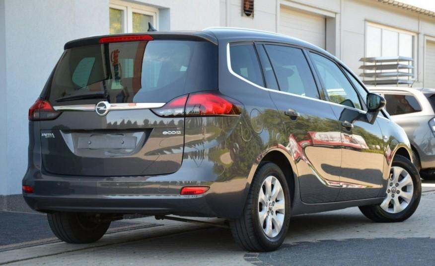 Opel Zafira Zafira Opłacona 1.6CDTI 136KM Bi-Xenon Navi Serwis Alu Gwarancja zdjęcie 14