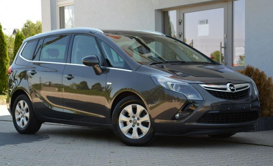 Opel Zafira Zafira Opłacona 1.6CDTI 136KM Bi-Xenon Navi Serwis Alu Gwarancja zdjęcie 18