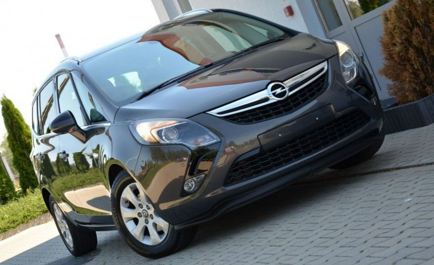 Opel Zafira Zafira Opłacona 1.6CDTI 136KM Bi-Xenon Navi Serwis Alu Gwarancja zdjęcie 19