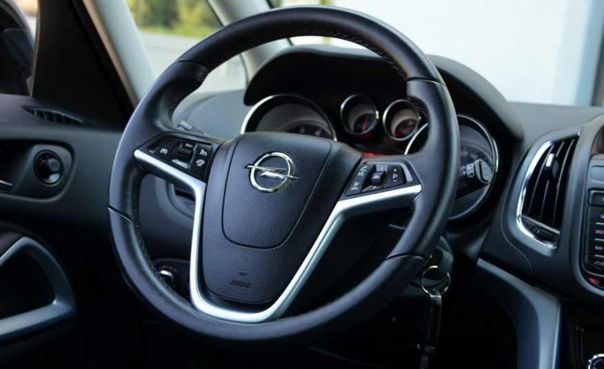 Opel Zafira Zafira Opłacona 1.6CDTI 136KM Bi-Xenon Navi Serwis Alu Gwarancja zdjęcie 34