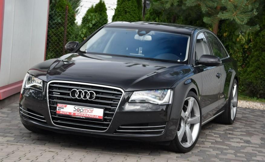 Audi A8 A8L 4.2TDi 350KM 2010r. Long B&O Kamera NightView zdjęcie 2