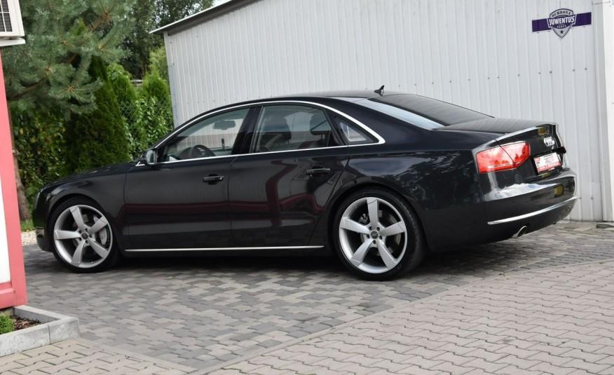 Audi A8 A8L 4.2TDi 350KM 2010r. Long B&O Kamera NightView zdjęcie 3
