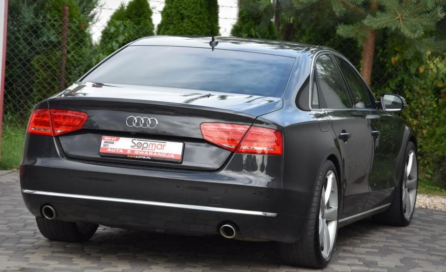 Audi A8 A8L 4.2TDi 350KM 2010r. Long B&O Kamera NightView zdjęcie 4
