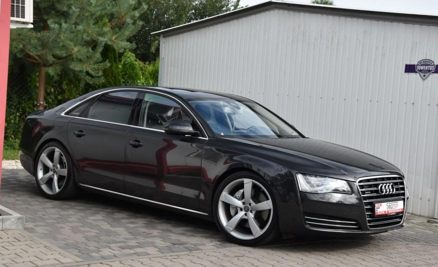 Audi A8 A8L 4.2TDi 350KM 2010r. Long B&O Kamera NightView zdjęcie 6