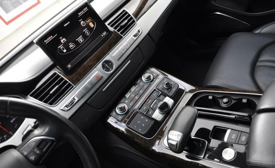 Audi A8 A8L 4.2TDi 350KM 2010r. Long B&O Kamera NightView zdjęcie 9