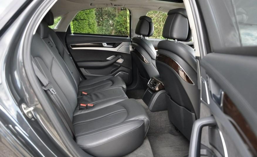 Audi A8 A8L 4.2TDi 350KM 2010r. Long B&O Kamera NightView zdjęcie 11