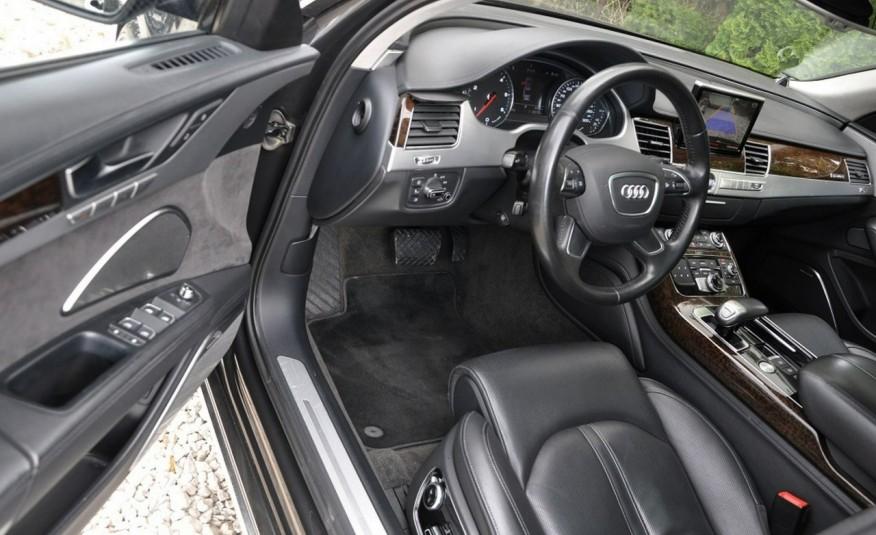Audi A8 A8L 4.2TDi 350KM 2010r. Long B&O Kamera NightView zdjęcie 13