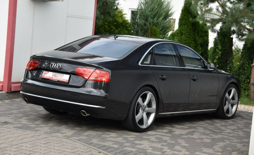 Audi A8 A8L 4.2TDi 350KM 2010r. Long B&O Kamera NightView zdjęcie 17