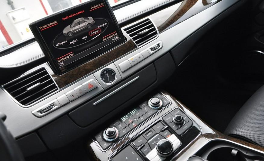 Audi A8 A8L 4.2TDi 350KM 2010r. Long B&O Kamera NightView zdjęcie 19