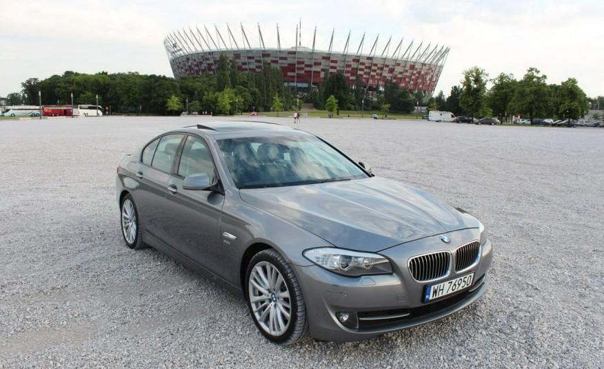 BMW 550 zarejestrowany, skóra, AUTOMAT zdjęcie 2