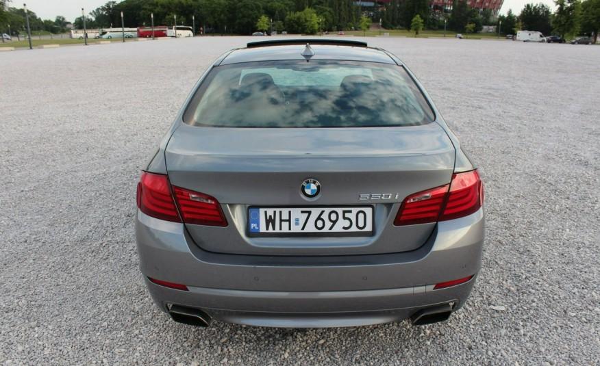 BMW 550 zarejestrowany, skóra, AUTOMAT zdjęcie 6