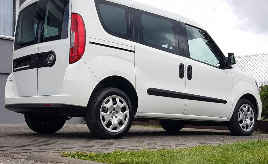 Fiat Doblo 5 OSÓB KLIMA 2xDRZWI BOCZNE PRZESUWNE KRAJOWY I-WŁAŚCICIEL zdjęcie 29