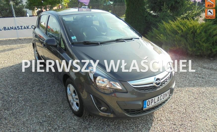 Opel Corsa Serwis, niski przebieg, 5 drzwi , silnik 1.2 benzyna, jeden właściciel zdjęcie 1