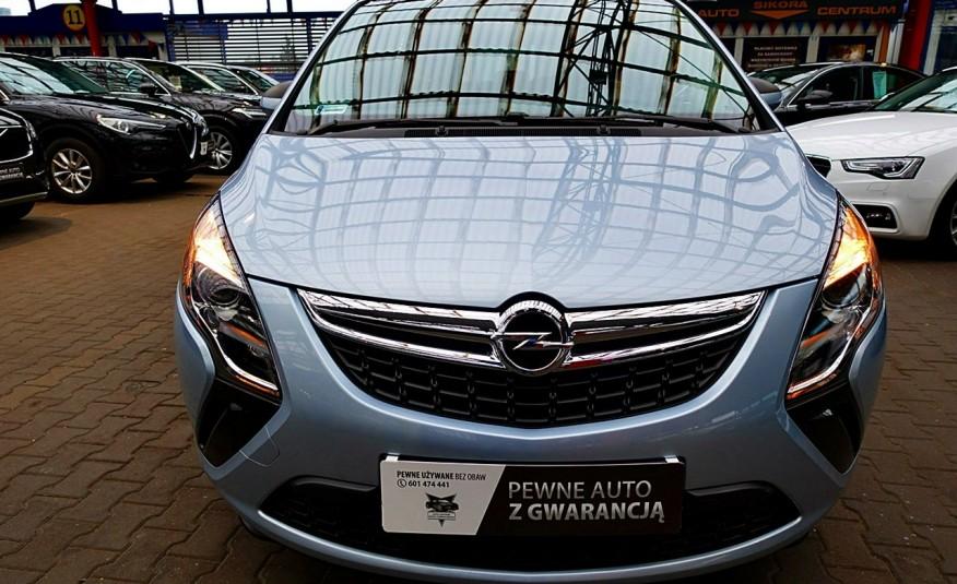 Opel Zafira 3 Lata GWARANCJA I-wł Kraj Bezwypadkowy 140KM 7-osób vat 23% TEMPOMAT 4x2 zdjęcie 1
