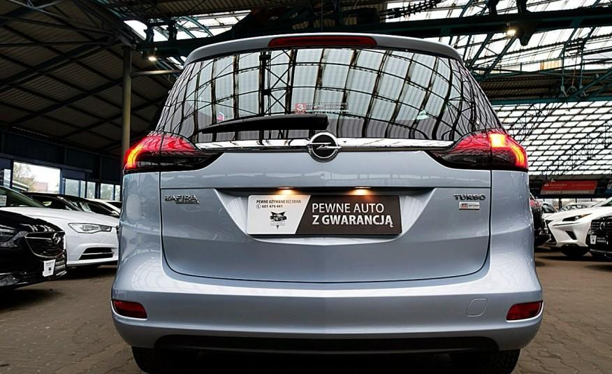 Opel Zafira 3 Lata GWARANCJA I-wł Kraj Bezwypadkowy 140KM 7-osób vat 23% TEMPOMAT 4x2 zdjęcie 2