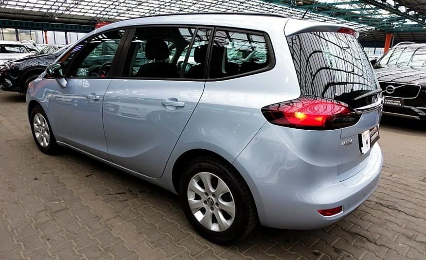 Opel Zafira 3 Lata GWARANCJA I-wł Kraj Bezwypadkowy 140KM 7-osób vat 23% TEMPOMAT 4x2 zdjęcie 4