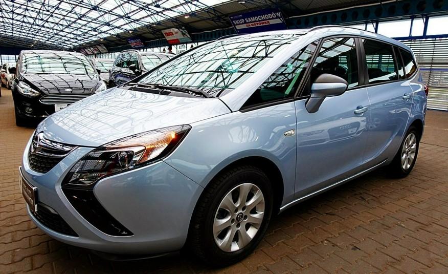 Opel Zafira 3 Lata GWARANCJA I-wł Kraj Bezwypadkowy 140KM 7-osób vat 23% TEMPOMAT 4x2 zdjęcie 7