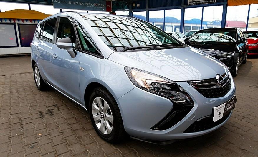 Opel Zafira 3 Lata GWARANCJA I-wł Kraj Bezwypadkowy 140KM 7-osób vat 23% TEMPOMAT 4x2 zdjęcie 8