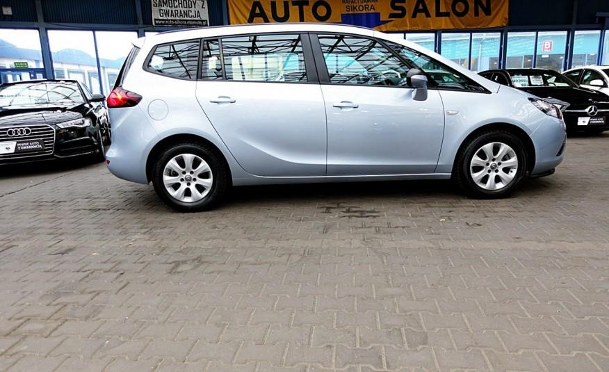 Opel Zafira 3 Lata GWARANCJA I-wł Kraj Bezwypadkowy 140KM 7-osób vat 23% TEMPOMAT 4x2 zdjęcie 24