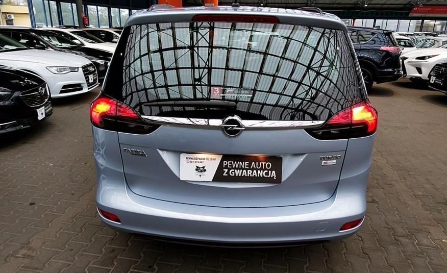 Opel Zafira 3 Lata GWARANCJA I-wł Kraj Bezwypadkowy 140KM 7-osób vat 23% TEMPOMAT 4x2 zdjęcie 27
