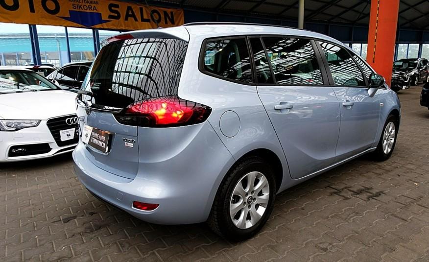 Opel Zafira 3 Lata GWARANCJA I-wł Kraj Bezwypadkowy 140KM 7-osób vat 23% TEMPOMAT 4x2 zdjęcie 28