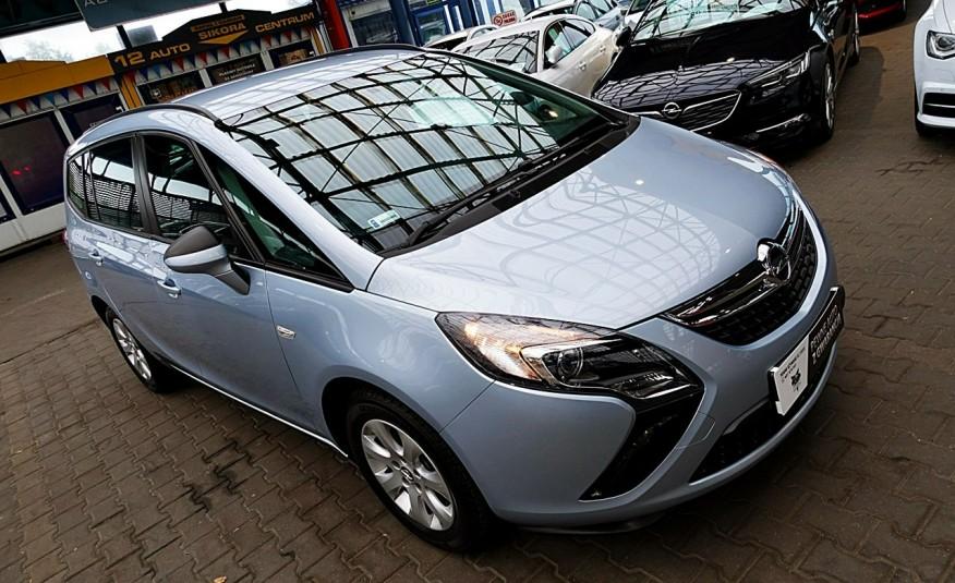 Opel Zafira 3 Lata GWARANCJA I-wł Kraj Bezwypadkowy 140KM 7-osób vat 23% TEMPOMAT 4x2 zdjęcie 31