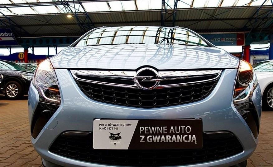Opel Zafira 3 Lata GWARANCJA I-wł Kraj Bezwypadkowy 140KM 7-osób vat 23% TEMPOMAT 4x2 zdjęcie 33