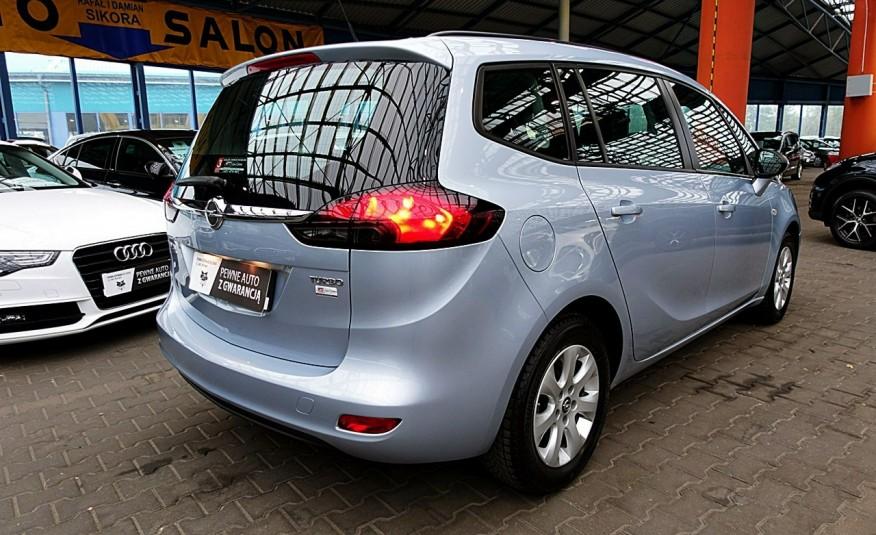 Opel Zafira 3 Lata GWARANCJA I-wł Kraj Bezwypadkowy 140KM 7-osób vat 23% TEMPOMAT 4x2 zdjęcie 36