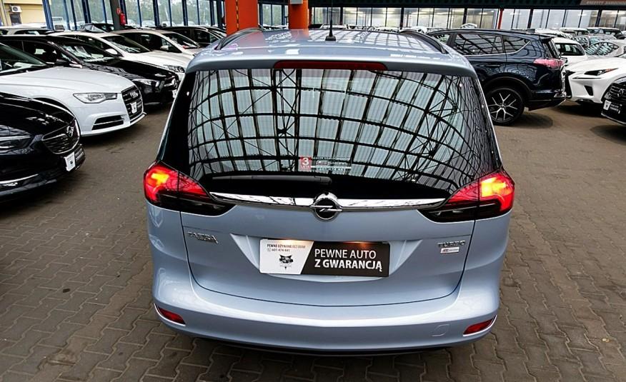 Opel Zafira 3 Lata GWARANCJA I-wł Kraj Bezwypadkowy 140KM 7-osób vat 23% TEMPOMAT 4x2 zdjęcie 40