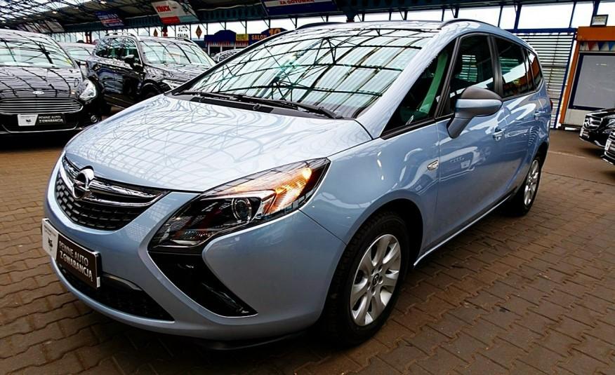 Opel Zafira 3 Lata GWARANCJA I-wł Kraj Bezwypadkowy 140KM 7-osób vat 23% TEMPOMAT 4x2 zdjęcie 41