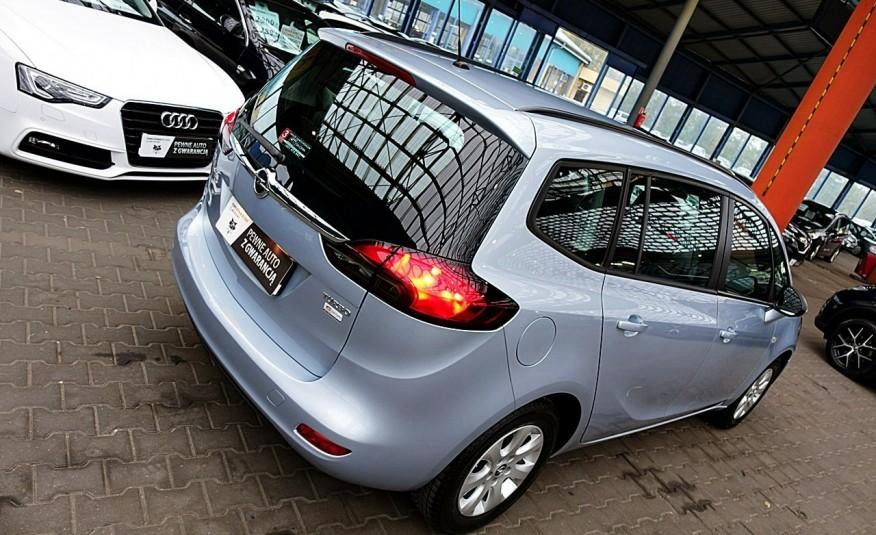Opel Zafira 3 Lata GWARANCJA I-wł Kraj Bezwypadkowy 140KM 7-osób vat 23% TEMPOMAT 4x2 zdjęcie 42