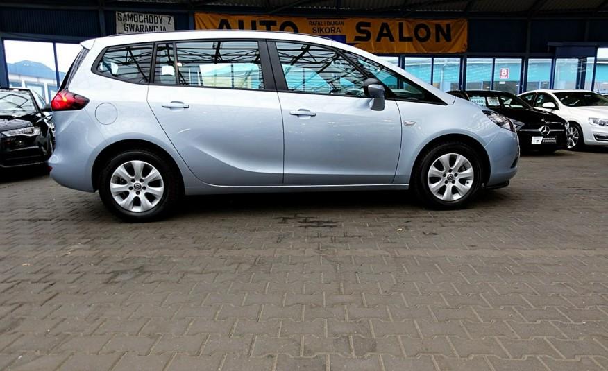 Opel Zafira 3 Lata GWARANCJA I-wł Kraj Bezwypadkowy 140KM 7-osób vat 23% TEMPOMAT 4x2 zdjęcie 43
