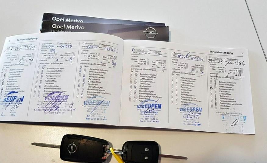 Opel Meriva Bezywpadkowy + + roczna gwarancja GetHelp w cenie zdjęcie 28