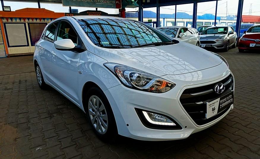 Hyundai i30 3 Lata GWARANCJA I-wł Kraj Bezwypadkowy 6-biegów LEDY+Bluetooth FV23% 4x2 zdjęcie 7