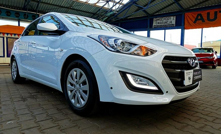 Hyundai i30 3 Lata GWARANCJA I-wł Kraj Bezwypadkowy 6-biegów LEDY+Bluetooth FV23% 4x2 zdjęcie 27