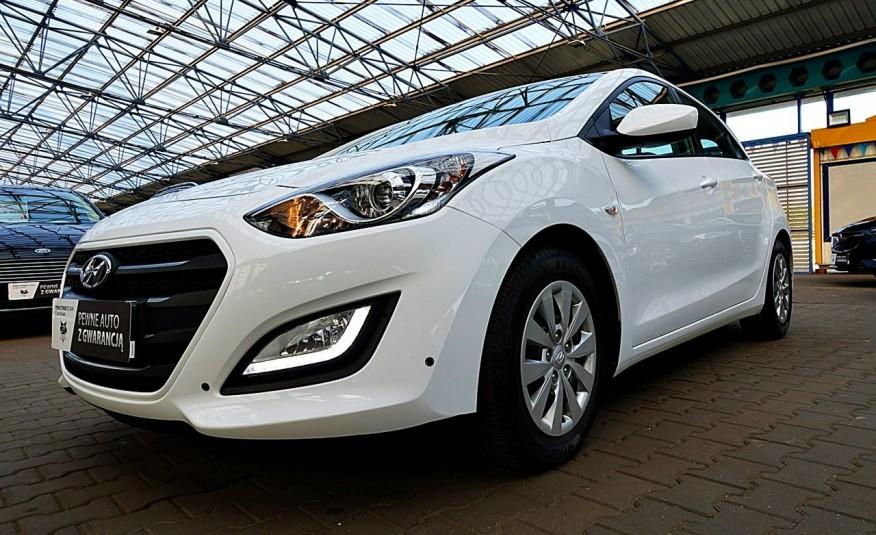 Hyundai i30 3 Lata GWARANCJA I-wł Kraj Bezwypadkowy 6-biegów LEDY+Bluetooth FV23% 4x2 zdjęcie 45